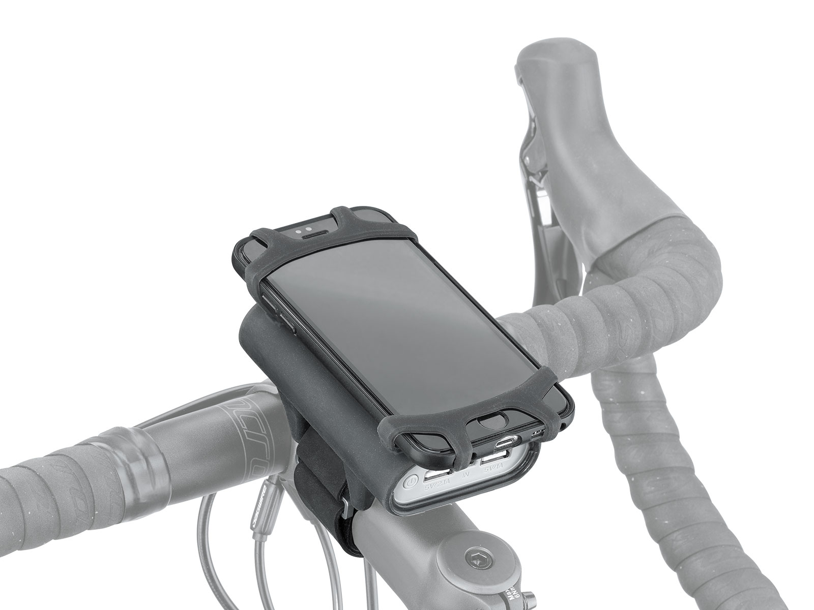 SMARTPHONE HOLDER WITH POWERPACK 7800 MAH